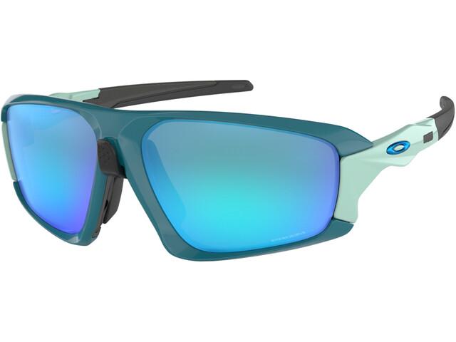 8ed68cd68d Oakley Field Jacket - Lunettes cyclisme - bleu/Bleu pétrole ...